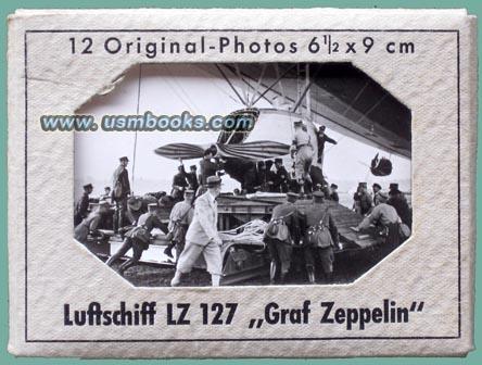 nazi souvenir photo sets zeppelin lz 127 and lz 130. Black Bedroom Furniture Sets. Home Design Ideas
